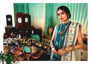 Shehr-e-Uns Unstitched Eid Dresses Collection 2021 By Cross Stitch (17)