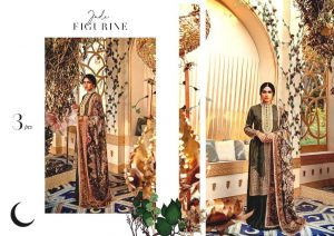 Shehr-e-Uns Unstitched Eid Dresses Collection 2021 By Cross Stitch (2)
