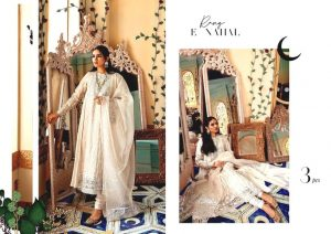 Shehr-e-Uns Unstitched Eid Dresses Collection 2021 By Cross Stitch (27)