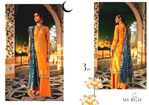 Shehr-e-Uns Unstitched Eid Dresses Collection 2021 By Cross Stitch (3)