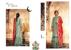 Shehr-e-Uns Unstitched Eid Dresses Collection 2021 By Cross Stitch (31)