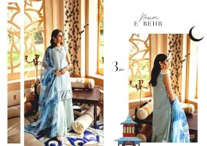 Shehr-e-Uns Unstitched Eid Dresses Collection 2021 By Cross Stitch (35)