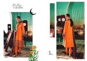 Shehr-e-Uns Unstitched Eid Dresses Collection 2021 By Cross Stitch (4)