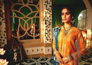 Shehr-e-Uns Unstitched Eid Dresses Collection 2021 By Cross Stitch (7)