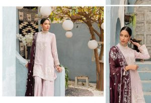 Unstitched Luxury Dresses Eid 2021 Collection By Cross Stitch (11)