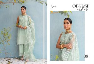Unstitched Luxury Dresses Eid 2021 Collection By Cross Stitch (12)