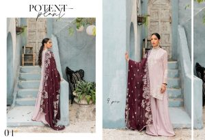 Unstitched Luxury Dresses Eid 2021 Collection By Cross Stitch (16)