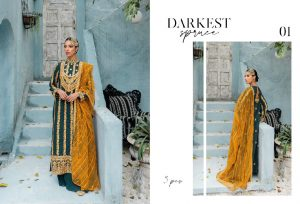 Unstitched Luxury Dresses Eid 2021 Collection By Cross Stitch (5)