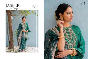 Unstitched Luxury Dresses Eid 2021 Collection By Cross Stitch (9)