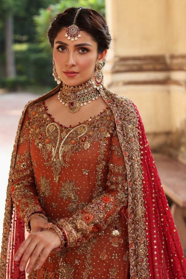 Bridal Dresses Collection 2021-22 By Aisha Imran (1)
