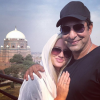 Beautiful Clicks of Wasim Akram with his wife Shaniera and his beautiful daughter Aiyla