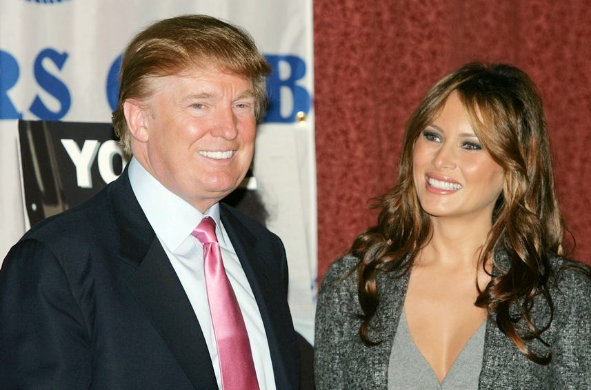 How did Donald Trump propose to Melania The gala Met played a role (1)