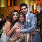 Javed Sheikh his Wife , Son Shahzad and Daughter Momal at a Family Wedding (5)