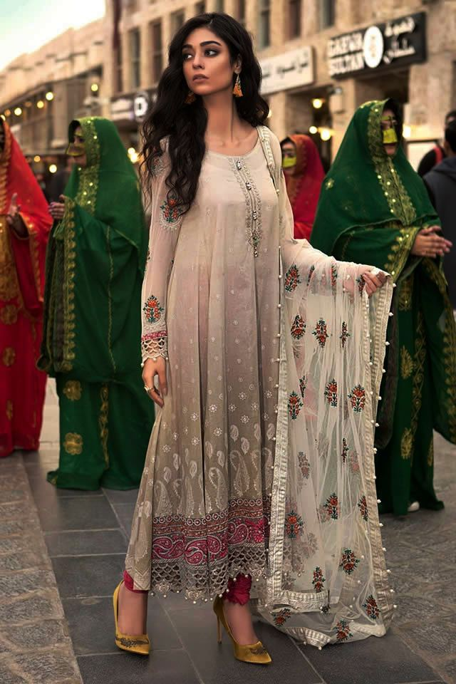 Maria B Lawn Eid Dresses Collection 2018 (1)