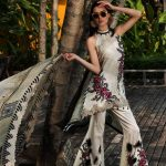Motifz Embroidered Lawn Dresses Collection 2018 (2)