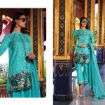 Motifz Embroidered Lawn Dresses Collection 2018 (7)