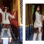 Motifz Embroidered Lawn Dresses Collection 2018 (9)