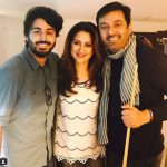 Nouman Ijaz Wife Pictures With Three Sons (2)