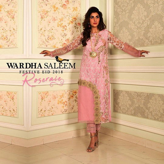 Wardha Saleem Festive Dresses Eid Dresses 2018 (1)