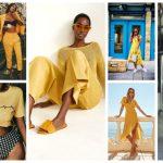 Yellow Colour Dresses Trend 2018 (6)