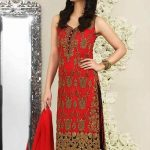 Asim Jofa Luxury Dresses Chiffon Collection 2018 (1)
