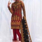 Asim Jofa Luxury Dresses Chiffon Collection 2018 (5)