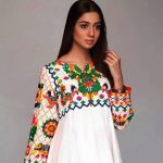 Girls Eid Festive Latest Trendy Dresses 2018 (10)