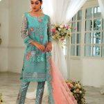 Gul Ahmed Luxury Eid Festival Dresses 2018 (40)