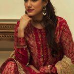 Manara Kurti Pajama Collection 2018 By Maria Asif Baig (4)