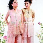 Party & Eid Wear Dresses Collection 2018 By Sanam Chaudhri