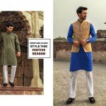 Urban Studio Men Dresses Eid Collection 2018 by Ismail (5)