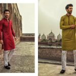 Urban Studio Men Dresses Eid Collection 2018 by Ismail (6)