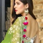 Ayesha Omar traditionally dressed at an event in the United States (12)