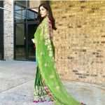 Ayesha Omar traditionally dressed at an event in the United States (4)