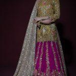 Exclusive Bridal Dresses Color Combination in Pakistan 2018