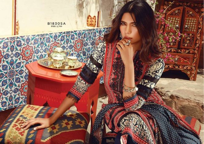 74e0d4388f Mid-Summer Colorful Suits 2018 New Ideas By Khaadi (12) | www ...