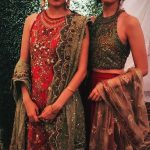 Syra Shahroze & her Sister Palwasha Yousaf at Friend Wedding (14)