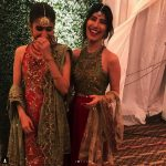 Syra Shahroze & her Sister Palwasha Yousaf at Friend Wedding (4)