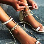 Toe Loop Flats Fashion In Summers 2018 (2)