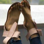 Toe Loop Flats Fashion In Summers 2018 (4)