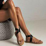 Toe Loop Flats Fashion In Summers 2018 (6)