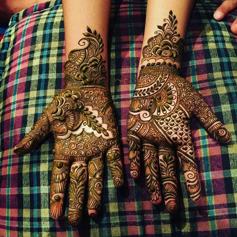 Bridal Hands Mehndi Designs Collection 2019 (9)