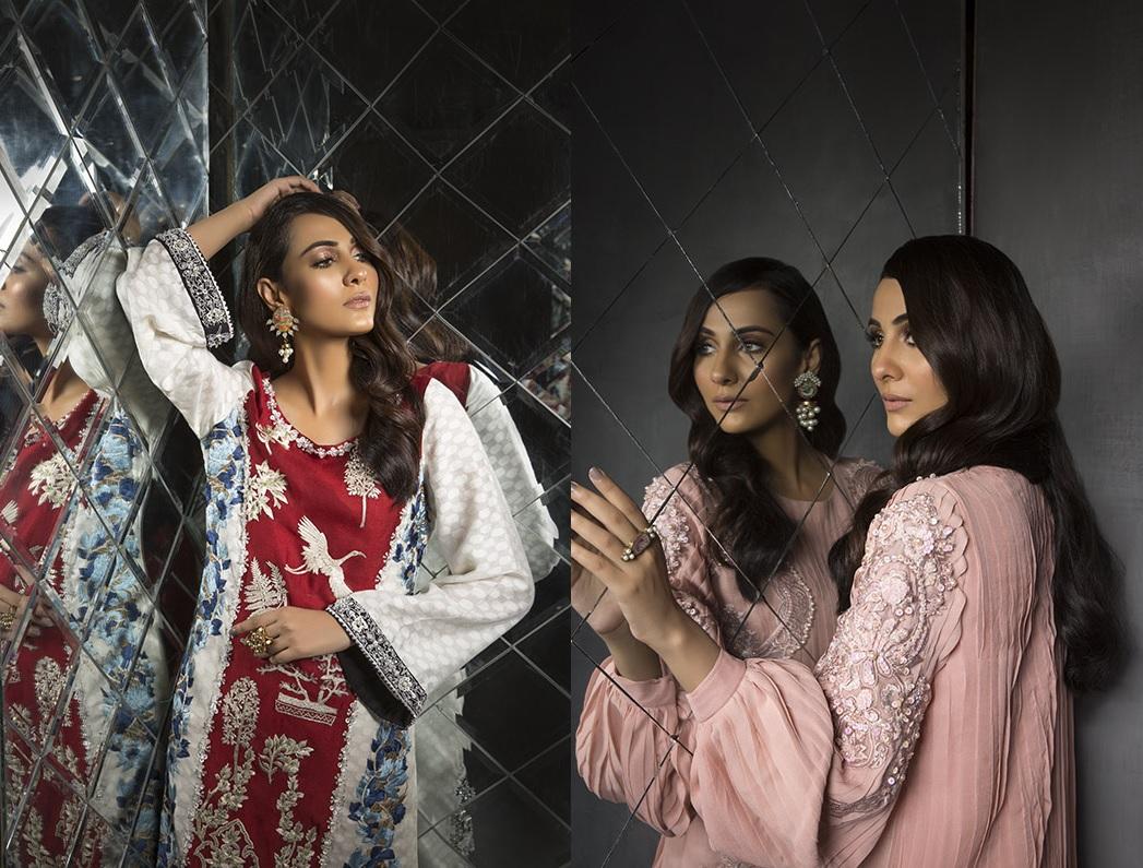 Women's Dreamy Eid luxury Pret Wear Collection 2019 By Saira Shakira (1)