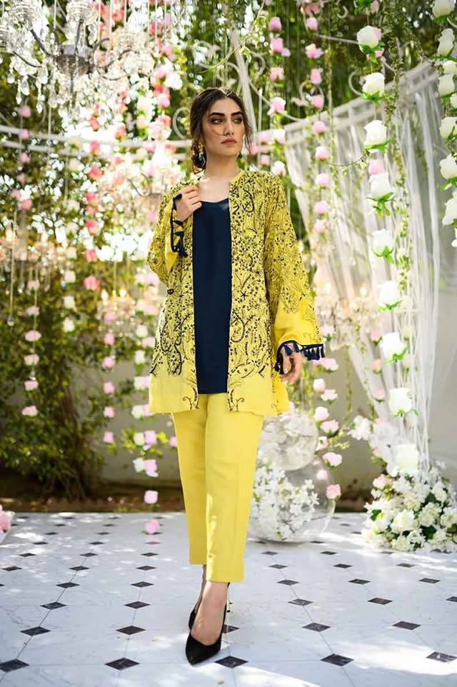 Gul Ahmed Les Morris Women's Eid Dresses Collection 2019 (5)