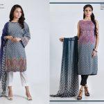 Bonanza Satrangi Eid Festive Two & Three Piece Collection 2019 (17)