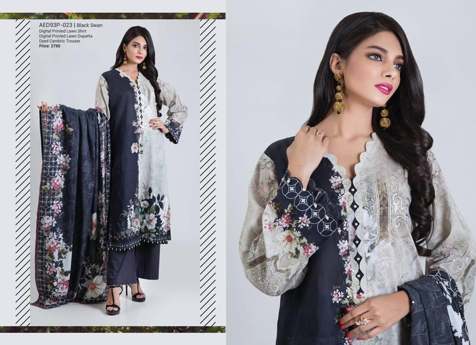 Bonanza Satrangi Eid Festive Two & Three Piece Collection 2019 (28)