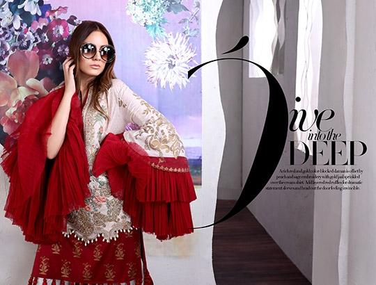 Celebrate Eid with Sana Safinaz's Muzlin Collection 2019 (6)