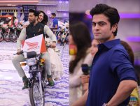 Cricketer Ahmed Shehzad & Actress Neelum Muneer in Jeeto Pakistan (1)