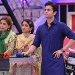 Cricketer Ahmed Shehzad & Actress Neelum Muneer in Jeeto Pakistan (6)