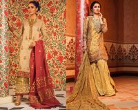 Eid Festive Dresses Collection 2019 By Al Karam (1)